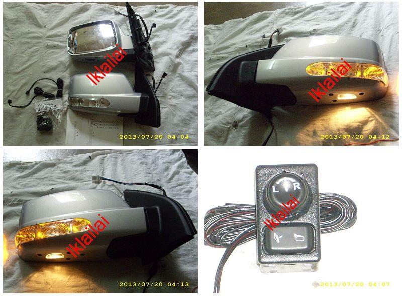 NISSAN X-TRAIL T30 Side Mirror Cover with LED & Foot Lamp + Motor