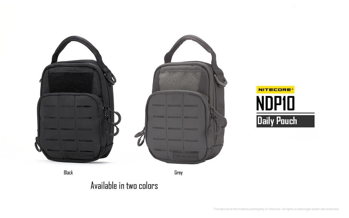 Nitecore NDP10 Cordura Nylon Utilitário Tático Cintura Bolsa / Sling Bag