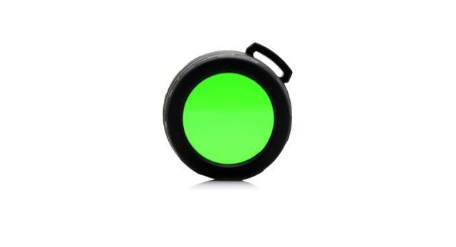Nitecore NFG40 Green Filter Lens Cap 40mm for SRT7, ES4S, EA45S, MH27