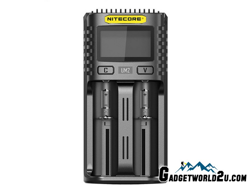 Nitecore UM2 Intelligent USB Dual-Slot Li-ion Battery Charger