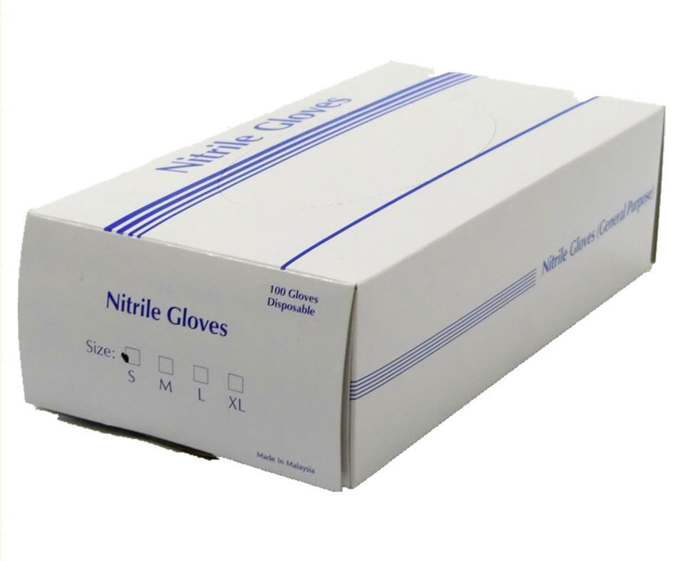 Nitrile gloves S - like disposable latex rubber examination 1 carton