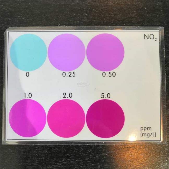 Nitrite (NO2) Tester Test Kit  Water Quality Aquarium Water