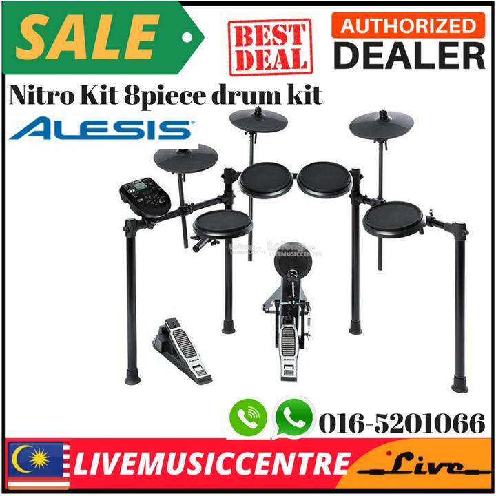 Alesis Dm6 Nitro Kit 8 Piece Electronic Drum With Module - Best