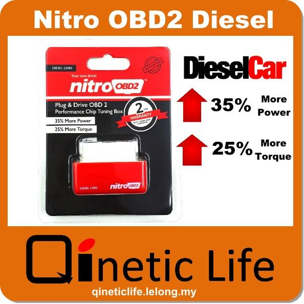 Nitro OBD2 For Diesel Car Chip Performance Tuning