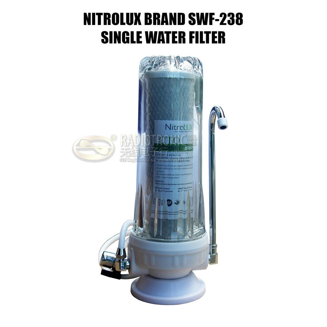 NITROLUX BRAND SWF-238 SINGLE WATER FILTER