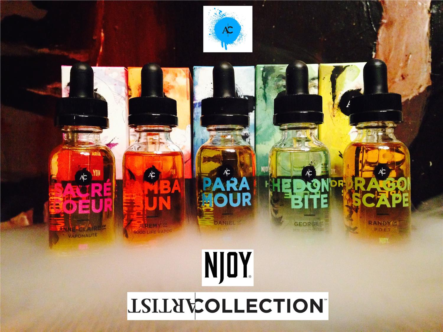 NJOY Artist Collection US Premium Vapor E-Liquid