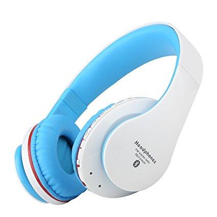 NK-850 Wireless Bluetooth FM stereo MP3 Player Headset(BLK,WHT,BLUE)