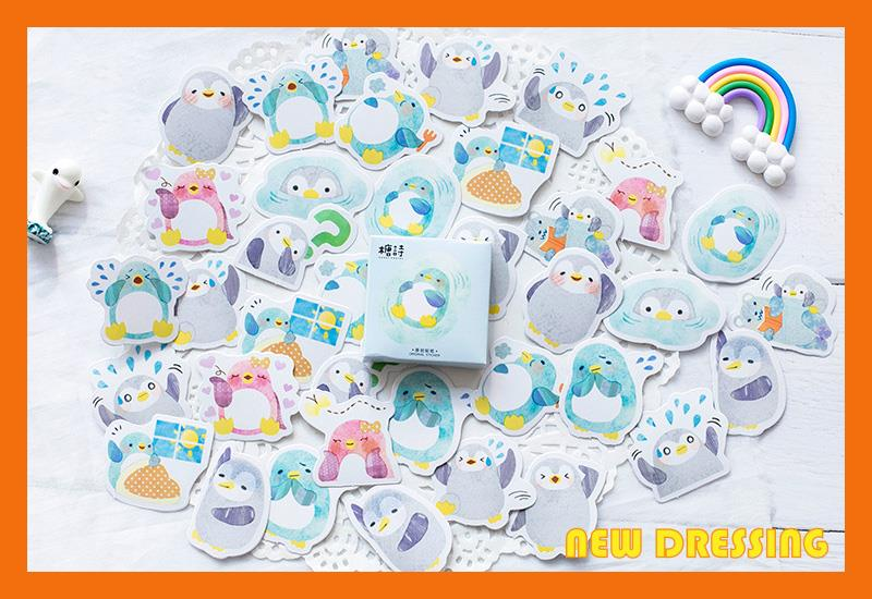 NK221 - Little Penguin Label Sticker