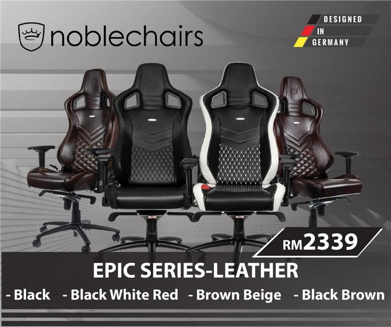 Amazing Noble Chairs Epic Real Leather Gaming Chairs 4 Color Option Ibusinesslaw Wood Chair Design Ideas Ibusinesslaworg