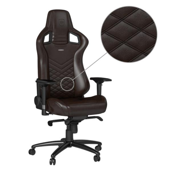 Swell Noble Chairs Epic Real Leather Gaming Chairs Brown Black Ibusinesslaw Wood Chair Design Ideas Ibusinesslaworg