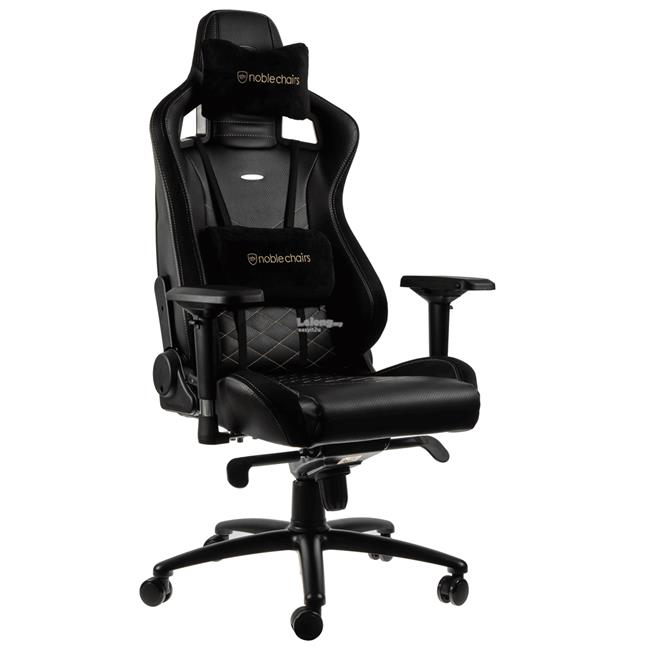 NOBLECHAIRS EPIC GAMING CHAIR - BLACK/GOLD