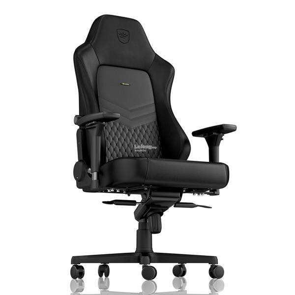 Swell Noblechairs Epic Gaming Chair Genuine Leather Black Inzonedesignstudio Interior Chair Design Inzonedesignstudiocom