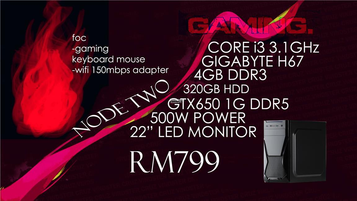 NODE TWO I3 GAMING SYSTEM
