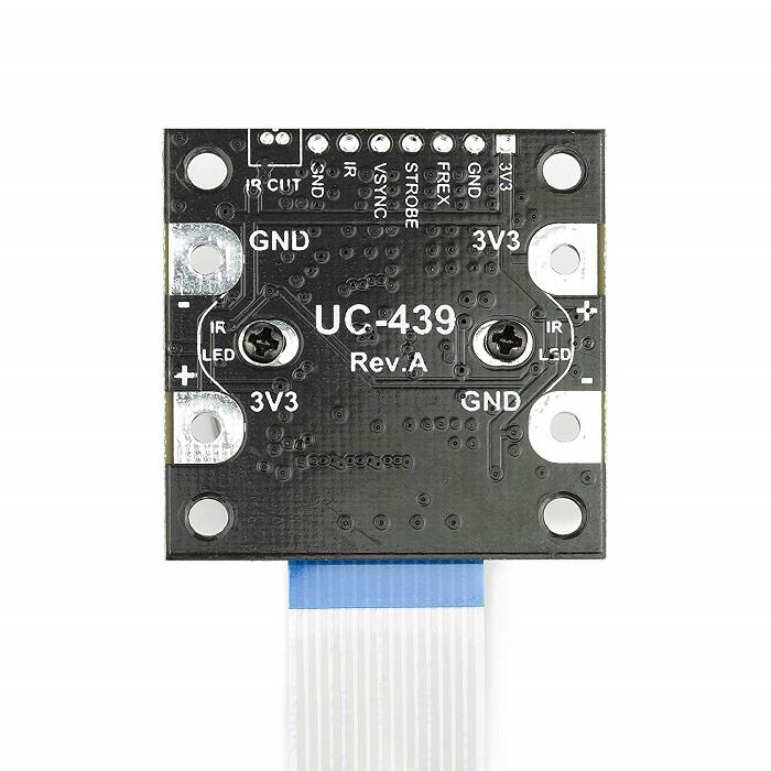 NOIR Camera Board /w CS mount Lens compatible /w official Raspberry Pi