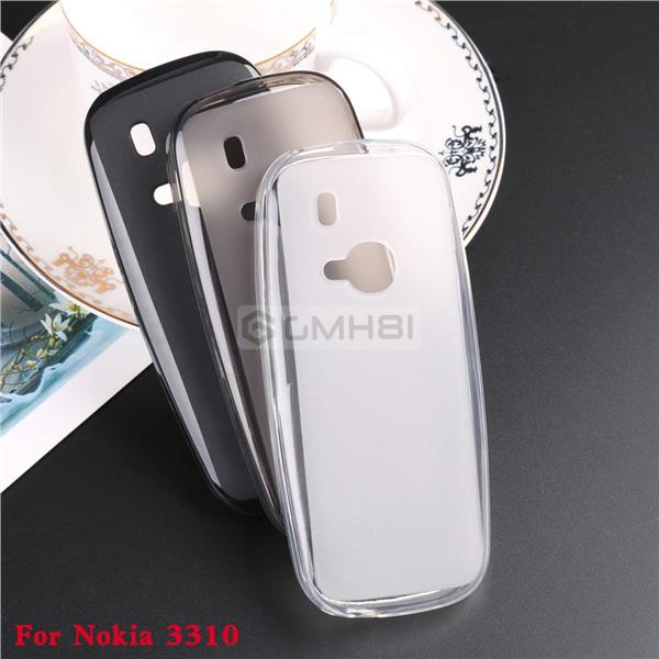 brand new dba67 79f90 Nokia 105 130 2017 TPU Puding Soft Back Cover Case