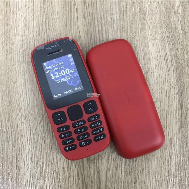 NOKIA 105 DS(2017) IMPORT REFURBISHED(Ready Stock)