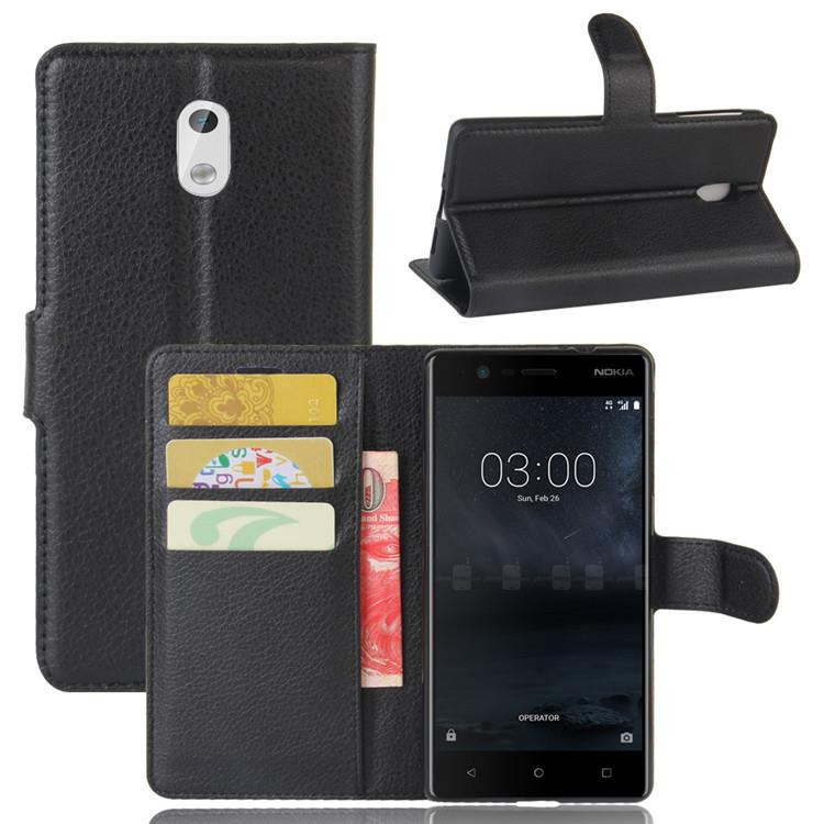Nokia 3 5 6 8 Leather Wallet Flip Case Casing Cover