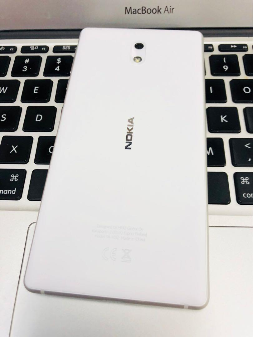 NOKIA 3 WHITE COLOUR LIKE NEW SELLING RM399