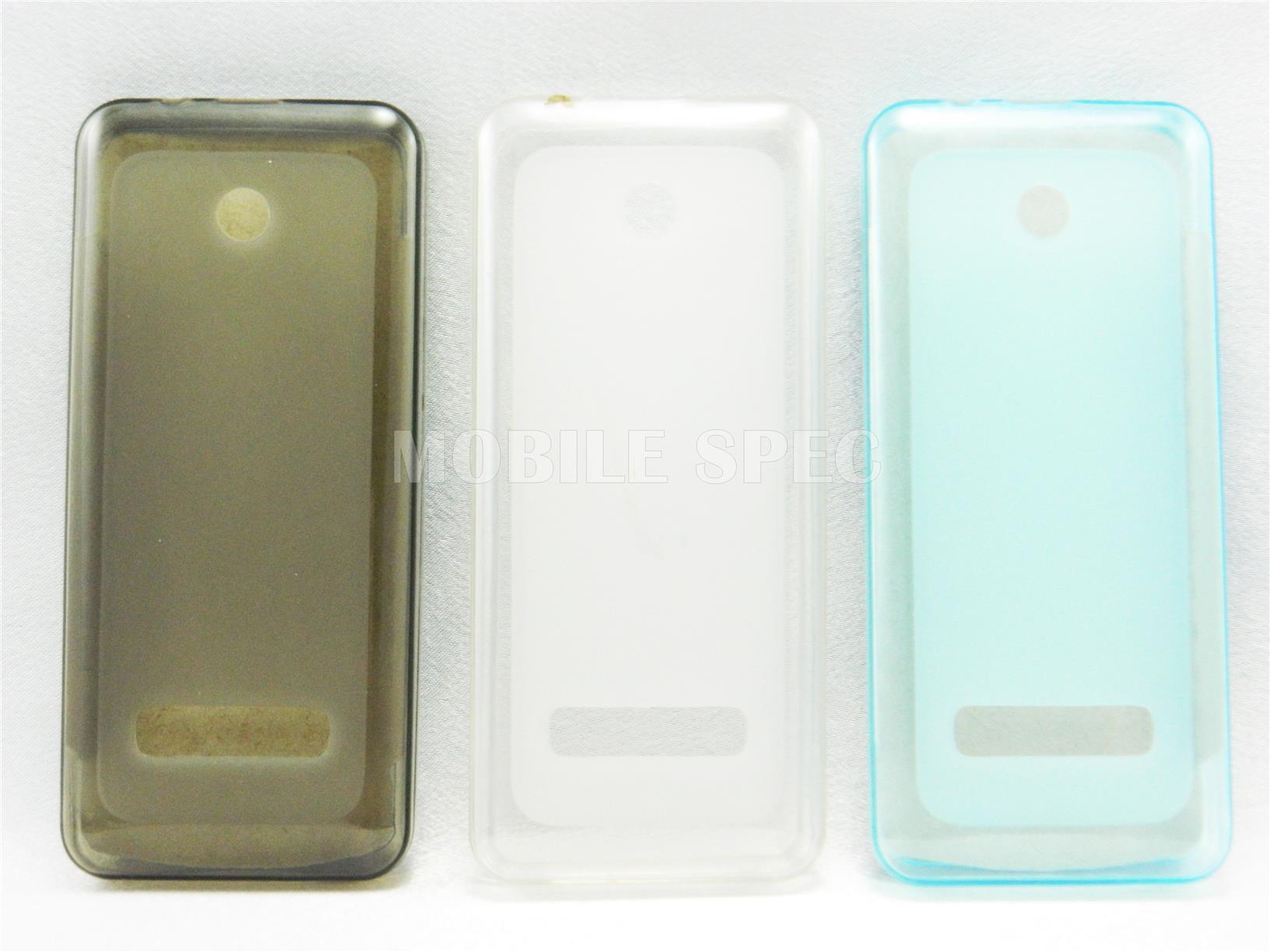 new product 2d105 afaac Nokia 301 Pudding Transparent TPU Soft Tinted Case Casing