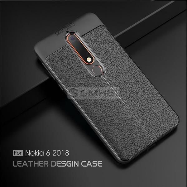 premium selection 44548 b1e04 NEW Nokia 6.1 2018 Rugged Tough Slim Armor TPU Bumper Soft Cover Case