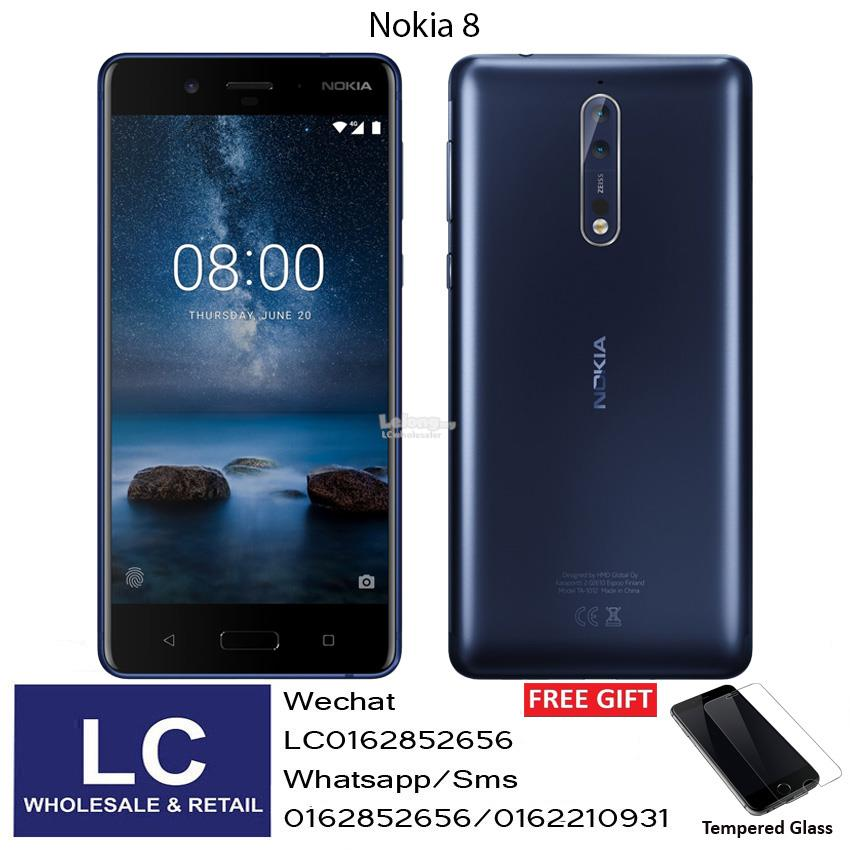 Nokia 84GB+64GB Tempered Blue Original Nokia Malaysia Warranty