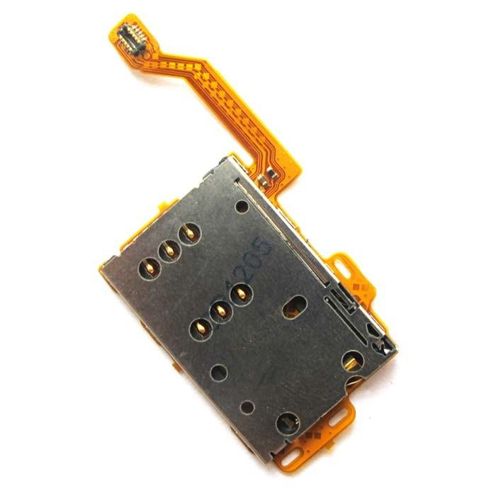 Nokia c7 701 n701 sim card slot read end 9252018 718 pm nokia c7 701 n701 sim card slot reading holder slide ribbon flex cable reheart Images