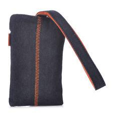 Nokia CP-143 Black Denim and Orange Pouch Bag