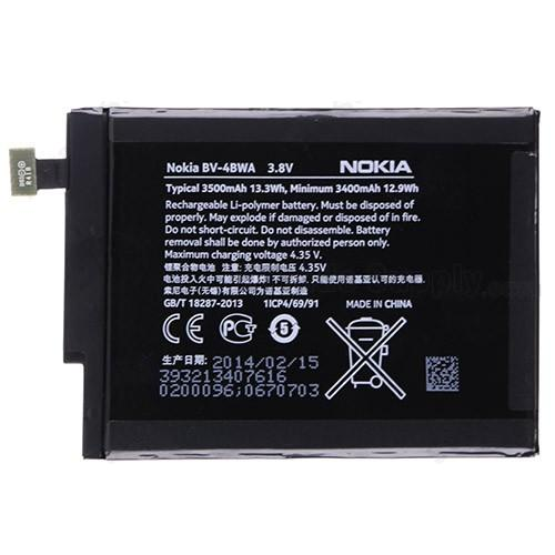 Nokia Lumia 1020 / Lumia 1320 / Lumia 1520 / XL RM-1030 BN-02 Battery