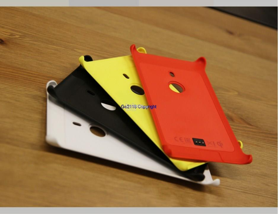Nokia Lumia 925 CC-3065 Wireless Charging Hard Back Case Cover Casing