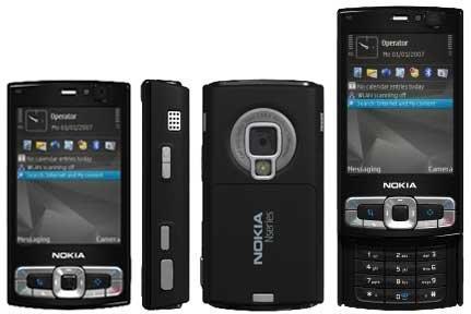 8gb Nokia N95 Classic Refurbished Phone
