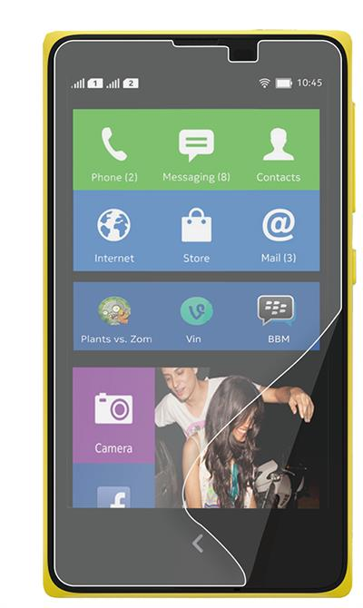 NOKIA X CLEAR SCREEN PROTECTOR