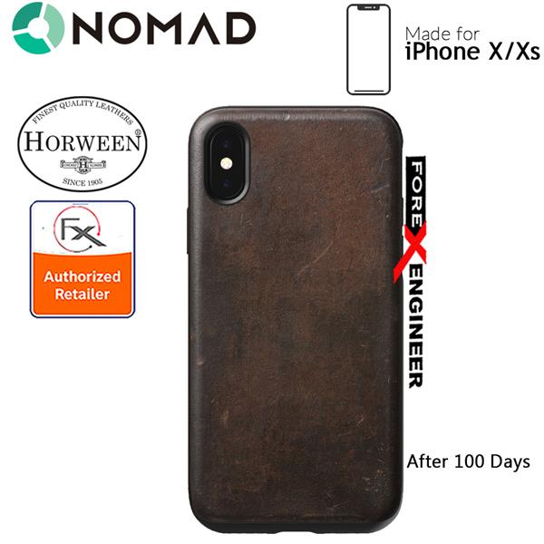 online store 358a1 ff108 Nomad Rugged Case for iPhone X / Xs - Rustic Brown