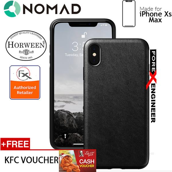 competitive price a3be6 712f5 Nomad Rugged Case for iPhone Xs Max - Black