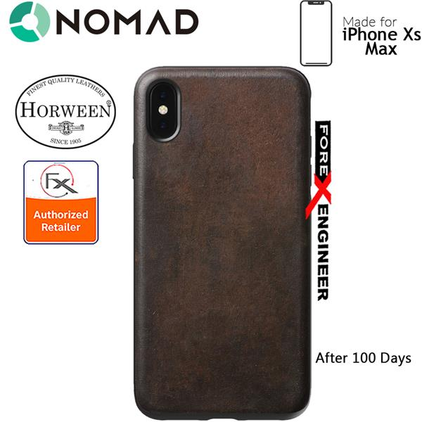 huge selection of 01daa 9991e Nomad Rugged Case for iPhone Xs Max - Rustic Brown