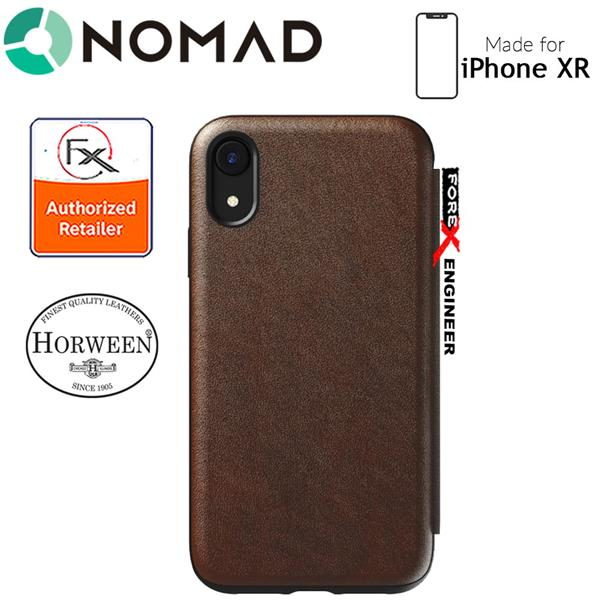 reputable site 94877 f4560 Nomad Rugged Folio Case iPhone XR - Black