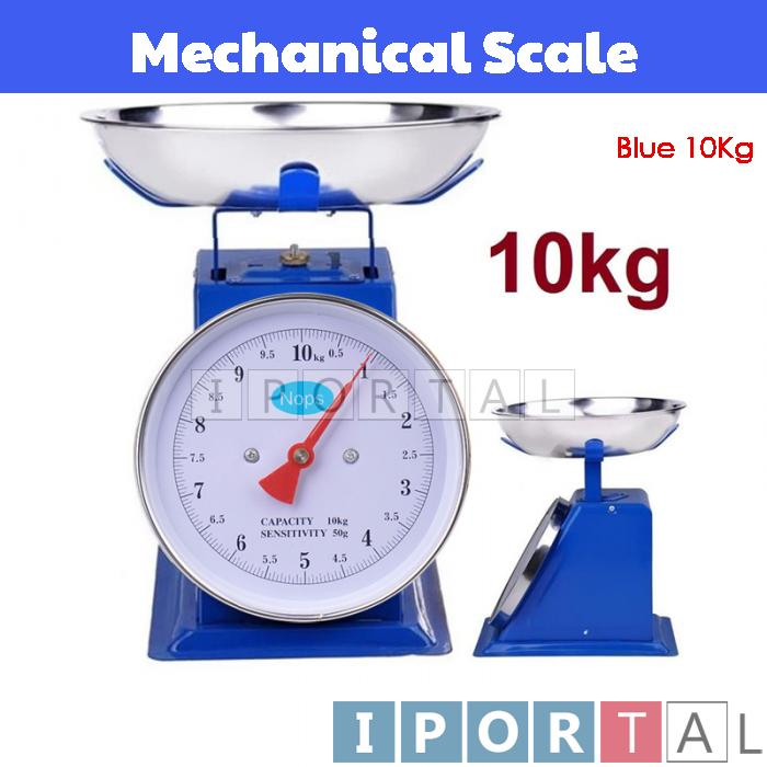 NOPS 10kg Mechanical Analog Weighing Scale Platform Timbang