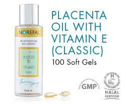 placenta gel for skin