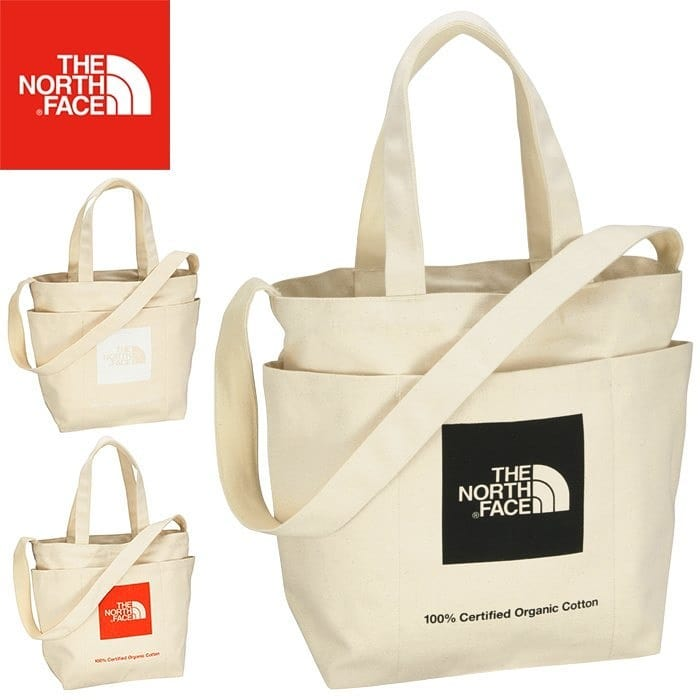The North Face 2 Way Tote Bag Using Organic Cotton