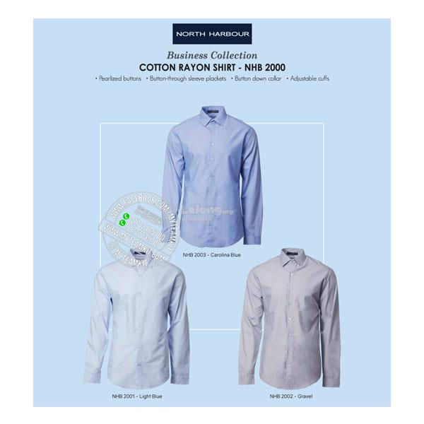 North Harbour Cotton Rayon Shirt NHB2000 (Ladies)