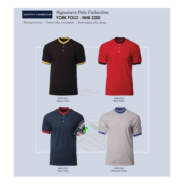 North Harbour York Polo NHB2200 (Men)