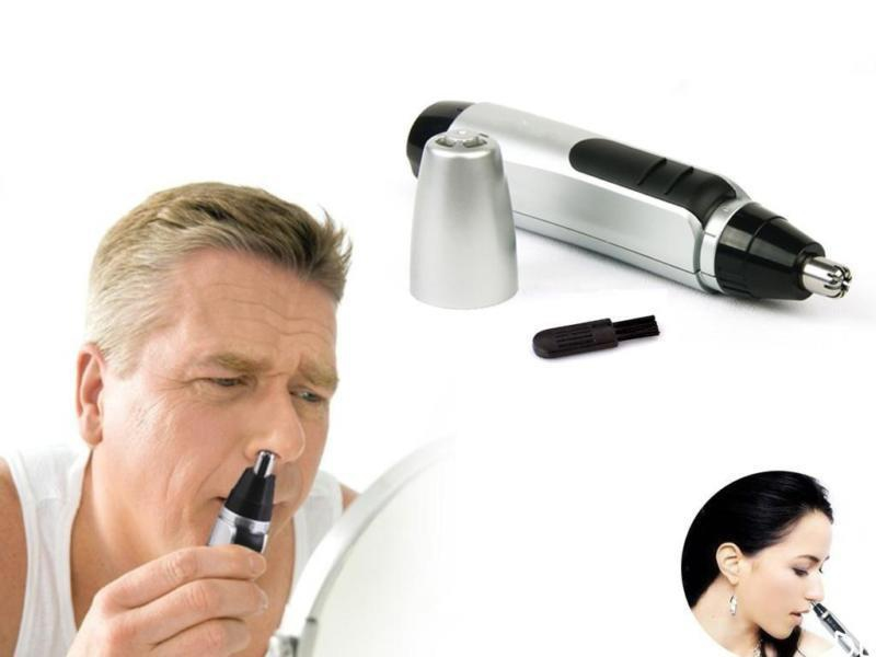 Nose Ear Face Hair Trimmer Shaver Clipper Cleaner Health Care
