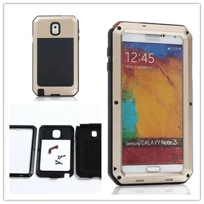 Note 3 4 5 Edge Army Anti Drop IP54 Waterproof Armor Case Casing Cover