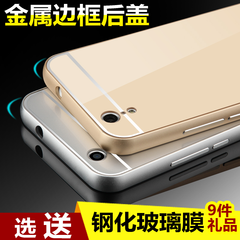 NOTE note Mirror Metal Bumper Case Cover Casing