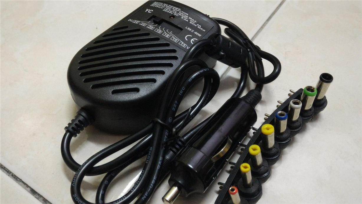 NOTEBOOK/LAPTOP CAR CHARGER UNIVERSAL
