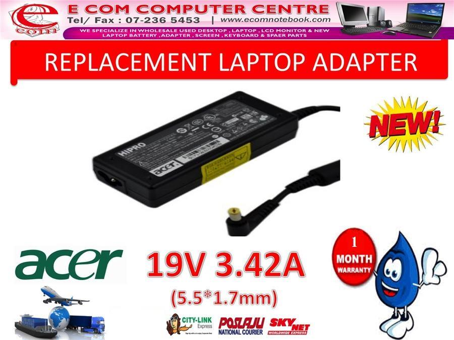 Notebook Laptop Power Charger Adapter for ACER Aspire 3830G 4900 4920