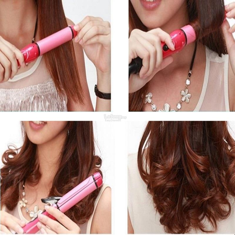 Nova 2in1 Hair Straightener Curling Set