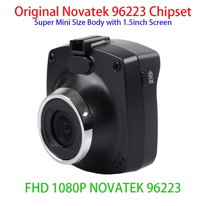 Novatek 96223 H1000 Mini 1.5inch LCD screen Car DVR Recorder Dash Cam