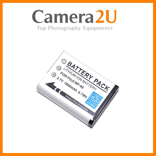 NP-95 Li-Ion Battery for Fujifilm Fuji F31 X100 X100s X100T X30 NP95