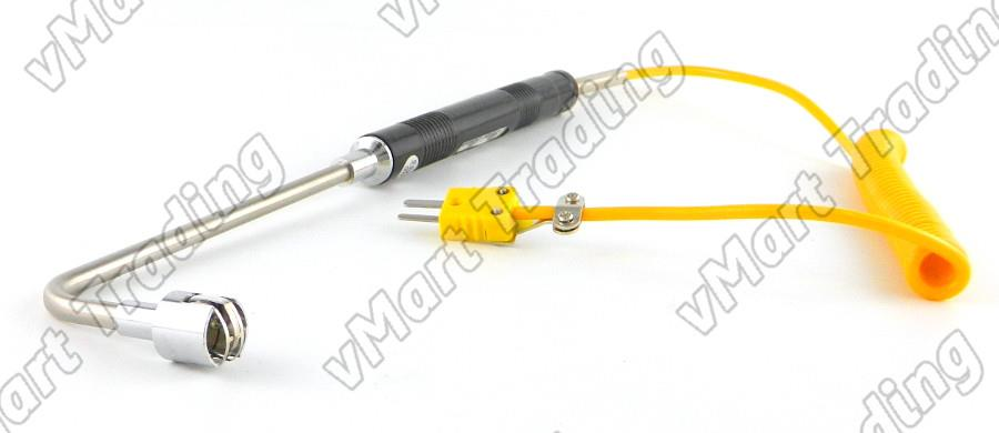 NR-81533B Type K Handheld Thermocouple Right Angle Surface Test Probe