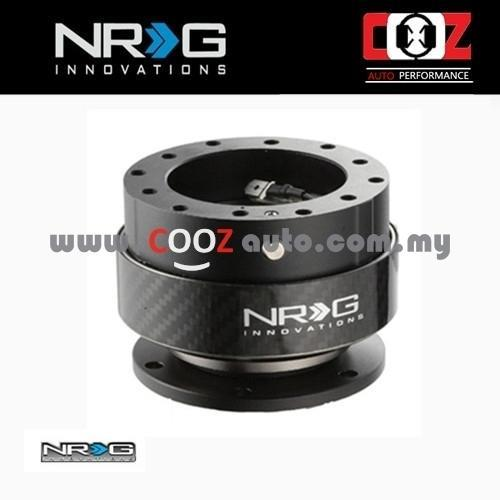 NRG Steering Wheel Quick Release Kit Gen 2.0 - CARBON